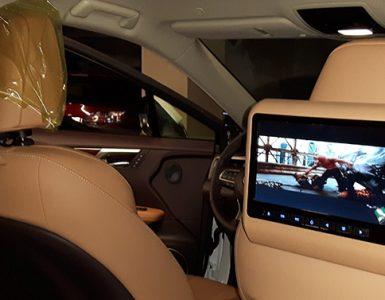 monitor do samochodu